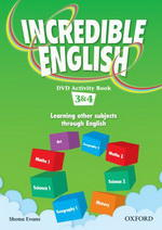 Incredible English 2ed. 3 DVD Activity Book (Level 3 & 4)